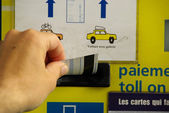Travel ticket machines — Stock Photo