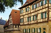 Bamberg half-timber house — Stock Photo