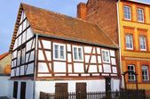 Spremberg half-timber house — Stock Photo