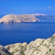 Krk - island in the northern part of Croatia — Stock Photo