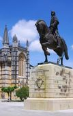 Batalha equestrian statue — Стоковое фото