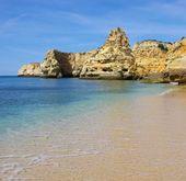 Algarve beach marinha — Stock Photo