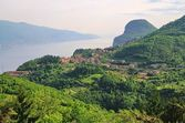 Lake Garda Tremosine — Stock Photo