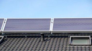 Solar collector — Stock Video