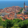 Piran - a city in Slovenia — Stock Photo #39154935