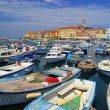 Rovinj - town in Croatia — Stock Photo