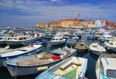 Rovinj - town in Croatia — Stock Photo