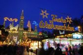 Vienna christmas market — Stock Photo