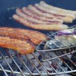 Stock Video: Barbecue