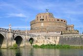 Rome Castel Sant Angelo — Stock Photo