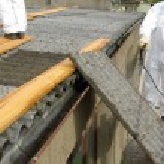 Asbest - asbestos — Stock Photo #41147163
