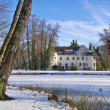 Stock Photo: Sallgast palace in winter