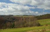 Goltzsch valley bridge — Stock Photo