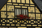 Ruedesheim half-timber house — Stock Photo