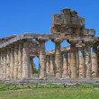 Stock Photo: View of ruins of Paestum