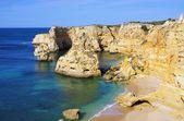 Algarve beach marinha — Zdjęcie stockowe