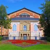 Bayreuth Festival Theatre  — Stock Photo