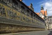 Procissão de Dresden dos príncipes — Fotografia Stock