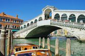 Venice Rialto Bridge  — Stock Photo