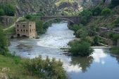 Toledo Puente Nuevo de Alcantara — Stock fotografie