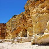 Алгарве пляж да Сеньора-да-Роша — Стоковое фото