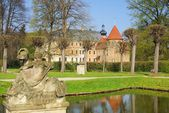 Altdoebern замок — Стоковое фото