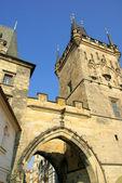Prague towers — Stock Photo
