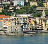 Rapallo castle  — Stock Photo