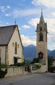 Serfaus church  — Stock Photo