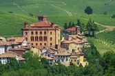 Barolo castle — Stockfoto