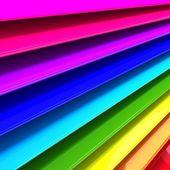3d abstrato colorido — Foto Stock