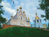 Pokrovsky Monastery in Kharkiv, Ukraine — Stock Photo