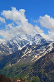 Caucasus mountain peaks — Stock Photo