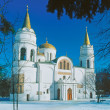 图库照片: Saviour Cathedral of Chernihiv, Ukraine
