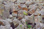 Heap of huge stones — Photo