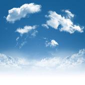 Blue sky — Stockfoto
