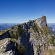 Panorama of the Schafberg mountain — Stock Photo