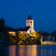 Sankt Wolfgang at twilight — Stock Photo #13175456