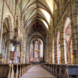 Stock Photo: Gothic nave of church of Wissembourg
