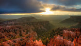 Sunset Point, Bryce Canyon National Park — Stock Photo
