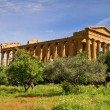 Greek Temple of Concordia - Stock Photo