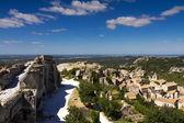Cityscape of Les Baux De Provence — Stock Photo