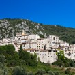 Hilltop village of Peillon — Stock Photo