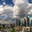 Skyline of Frankfurt am Main — Stock Photo