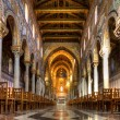 Stock Photo: Nave of Cathedral of Monreale