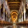 Nave of the Cathedral of Monreale — Stock Photo