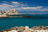 Cityscape of Antibes — Stock Photo