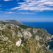 Lookout on the Grande Corniche — Stock Photo