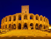 Amphitheater of Arles at twilight — Foto de Stock