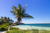 Landscape at Bahia Honda Beach — Stock Photo